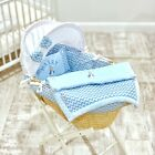 PERSONALISED 5 PC MOSES BASKET COVER BEDDING DRESSING BLANKET BOYS PETER RABBIT