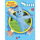 In The Night Garden Son Extra Large Birthday Card NG035