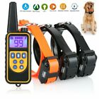 electric dog - Dog Shock Collar With Remote Waterproof Electric For Large 880 Yard Pet Training