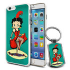 Betty Boop Design Hard Case Cover & Free Keyring For Various Mobiles - 03 $9.46 AUD on eBay