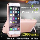 """10000mAh Battery Charging Power Bank Charger Case Cover For iPhone 6S Plus 5.5"""""""