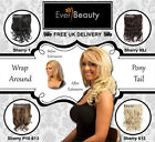 Clip In Curly Hair Extensions Layered Half Head Pieces As Real Hair