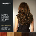 DreamStyle 50% Sale:Clip In Curly Hair Extensions Layered Half Head Pieces