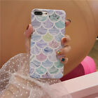 For iPhone X 8 6 6s 7 Plus Cute Hard Rugged Pattern Flower Phone Slim Case Cover