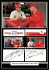 (ab129) michael schumacher & niki lauda signed size a4 photograph great gift ###