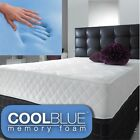 "Cool touch 9"" memory foam and spring mattress - 2ft6, 3ft, 4ft, 4ft6, 5ft ,6ft"