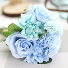 DIY Artifical Silk Rose Fake Flower Wedding Bridal Bouquet Party Home Decoration