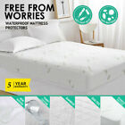 Mattress Box Spring Cover Protector Bed Bug Hypoalergenic Encasement USA Stock image