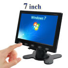 "7""/9""/10"" LCD CCTV Monitor PC Screen AV RCA VGA HDMI 1080p for DSLR Raspberry P"