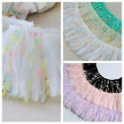 ribbon tulle - Ruffle Pleated Tulle Trim Gathered Ribbon Frill Sewing Stretch Fabric 10cm 100cm