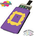 Monica Rachael Friends Apartment Door - Universal Leather Phone Case Cover