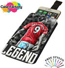 Zlatan Ibrahimovic Sweden Legend Football - Universal Leather Phone Case Cover