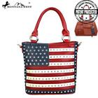 Red American Pride Montana West Concealed Carry Purse Tote Crossbody