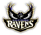 Baltimore Ravens NFL Football Combo Car Bumper Sticker Decal - 3'', 5'' or 6'' on eBay