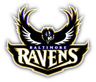 Baltimore Ravens NFL Football Combo Car Bumper Sticker Decal - 3'', 5'' or 6'' $4.0 USD on eBay