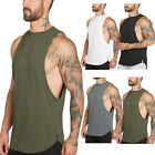 USA Mens Gym Bodybuilding Muscle Fit Stringer Tank Tops Racer-back T-Shirt Vest