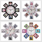 Indian Wall Clocks Plastic Frame Photo Frame Love Family Picture Home Decorative
