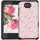 For ZTE Majesty Pro Plus Z798BL Z799VL Pastel Color Phone Case Cupcake Unicorn