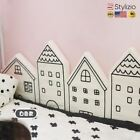 NEW Cute Baby Bed Fence 4 Pieces A Set Lovely Sponge House Safe Protection