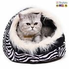 NEW Super Warm Cat Cave Bed Dog House Puppy Kennel Shelter For Kitty Rabbit And