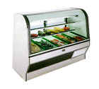 Marc Refrigeration HS-6 S/C Display Case, Red Meat Deli