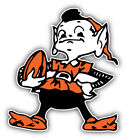 Cleveland Browns NFL Football Logo Car Bumper Sticker Decal - 3'', 5'' or 6'' on eBay