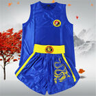 Chinese Dragon Embroidery Martial Arts Uniform Kung Fu Tai chi Suit Costume