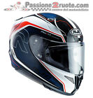 Full-face helmet Hjc Rpha 11 Darter white red blue MC21 size M visor smoke
