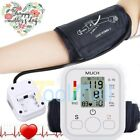 Automatic Digital Upper Arm Blood Pressure Cuff BP Monitor Machine Pulse FDA