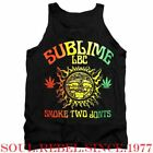 SUBLIME SMOKE TWO JOINTS PUNK ROCK REGGAE TANK TOP MEN'S SIZES