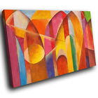 ZAB1583 Retro Colourful Cool Modern Canvas Abstract Wall Art Picture Prints