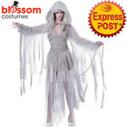 CA711 Ladies Haunting Beauty Ghost Horror Halloween Dress Scary Zombie Costume