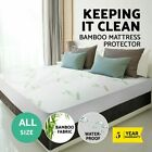 WATERPROOF MATTRESS COVER King Queen Full Twin Hypoallergenic Bed Pad Protector image