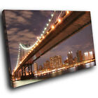 SC004 Brooklyn Bridge New York Landscape Canvas Wall Art Large Picture Prints