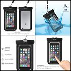 "Universal Waterproof Case CellPhone Dry Bag Pouch up to 6.0"" diagonal Fast Ship"