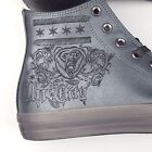 Converse Chuck Taylor ALL Star Hi Sneakers Chi Town Chicago Grey Leather 156456