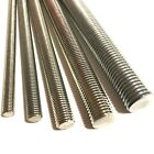 M12 / 12mm A4 MARINE STAINLESS STEEL Threaded Bar - Rod Studding Studs