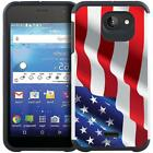 For Kyocera Hydro Wave / Hydro Air Slim Hybrid Armor Case Dual Layer Phone Cover
