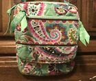 Vera Btadley Small Crossbody Purse, Green & Pink!