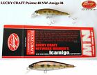 Lucky Craft Pointer 48 Sp Pêche Leurre Japon Rigide Appât , Truite, Chub, Perche