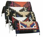 """32"""" x 32"""" Navajo 1"""" Blended Felt Bottom SADDLE PAD with Suede Wear Leathers"""
