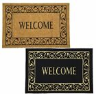 Kyпить WELCOME MAT OUTDOOR INDOOR DOORMAT FRONT DOOR PORCH DECK  на еВаy.соm