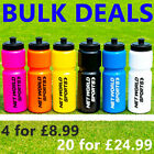 Sports Water Bottles [750ml] - BPA FREE PLASTIC BOTTLES - Sports Cycling Bottle image