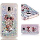 Shockproof Bling Printed Liquid Glitter Quicksand Soft TPU Cover Case For Phone