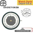 Genuine ETA G10.711 Swiss Made Quartz Movement, (Multiple Variations) – NEW!