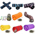 Collapsible Pet Cat Tunnel Interactive Toy 1/2/3 WAYS S/Y Rabbit Outdoor Tube