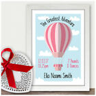 Personalised Newborn Baby Girl Birth Details Gifts Daughter Granddaughter Niece