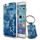 Personalised Marble Design Phone Case Cover & Keyring for Various Phones - 597
