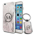 Personalised Marble Design Phone Case Cover & Keyring for Various Phones - 637