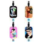Princess Tinkerbell Tangled Lovely Wood Travel Bag Luggage Tag